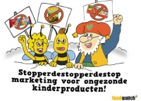 Stop Marketing ongezonde kinderproducten